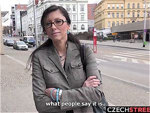 Czech mummy assistant Pickup up and ravaged