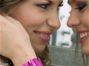 teen sapphic Blue Angel gets sizzling and spicy